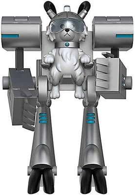 Фигурка Мистер Мисикс - Рик и Морти (Собери - Снафелс Снежок) (Funko Articulated Rick and Morty Meeseeks Action Figure) (фото, вид 3)