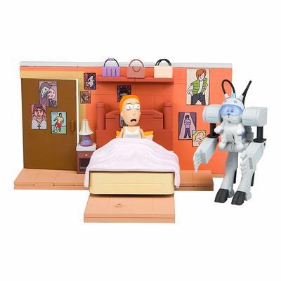 Зовите меня Снежком - Средний конструктор Рик и Морти (129 дет) (McFarlane Toys Rick & Morty You Shall Now Call Me Snowball Medium Construction Set) (фото, вид 1)
