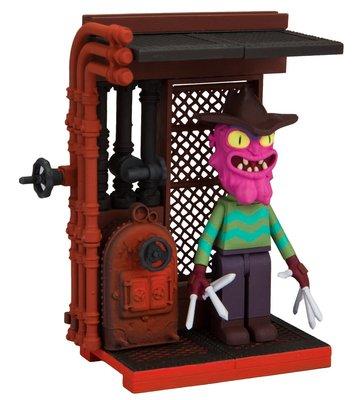 """Страшный Терри """"Ты можешь бежать, но ты не можешь спрятаться"""" - мини конструктор Рик и Морти (42 дет) (McFarlane Toys Rick & Morty You Can Run But You Can't Hide Micro Construction Interlocking) (фото, вид 1)"""