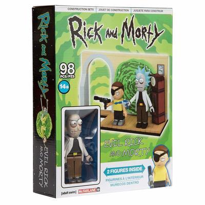Злой Рик и Морти - малый конструктор Рик и Морти (98 дет) (McFarlane Toys Rick & Morty Evil Rick & Morty Small Construction) (фото, вид 1)