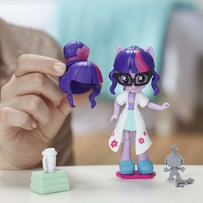 Мини кукла Сумеречная Искорка - модница (My Little Pony Equestria Girls Minis Switch 'n Mix Fashions Twilight Sparkle) (фото, вид 1)