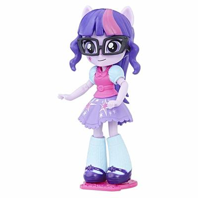 Мини кукла Сумеречная Искорка - модница (My Little Pony Equestria Girls Minis Switch 'n Mix Fashions Twilight Sparkle) (фото, вид 2)