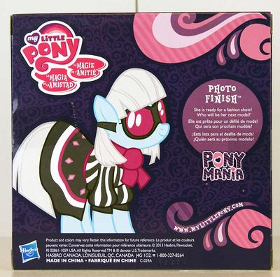 Эксклюзивная пони Фото Финиш - Ponymania (Hasbro My Little Pony Ponymania Photo Finish Exclusive) (фото, вид 1)