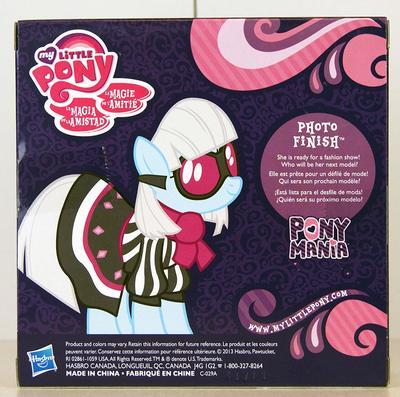 Эксклюзивная пони Фото Финиш - Ponymania (Hasbro My Little Pony Ponymania Photo Finish Exclusive) (фото, вид 1)