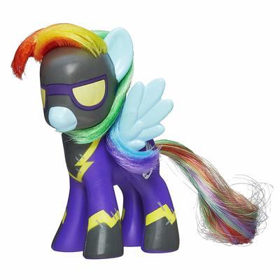 Эксклюзивная пони Радуга Дэш теневая - светится в темноте (My Little Pony Friendship is Magic Limited Exclusive Rainbow Dash as Shadowbolt) (фото, вид 1)