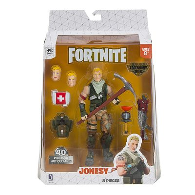 Джонси - Легендарная серия Фортнайт (Fortnite Legendary Series Figure, Jonesy) (фото, вид 1)