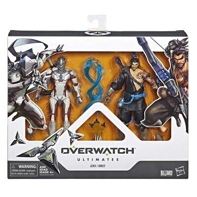 Гэндзи и Хандзо - Набор фигурок Overwatch (Hasbro Overwatch Ultimates Series Genji and Hanzo - Dual Pack Collectible Action Figures) (фото, вид 1)