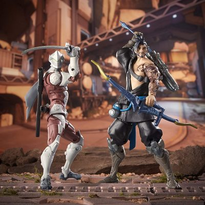 Гэндзи и Хандзо - Набор фигурок Overwatch (Hasbro Overwatch Ultimates Series Genji and Hanzo - Dual Pack Collectible Action Figures) (фото, вид 3)
