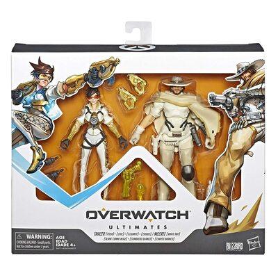 Трейсер и Маккри - Набор фигурок Overwatch (Hasbro Overwatch Ultimate Series Tracer & McCree Fual Pack) (фото, вид 1)