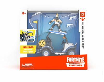 Вездеход Для Картинга и фигурка Дрифт Королевская битва Фортнайт (Fortnite Battle Royale Collection: All Terrain Kart Vehicle & Drift Figure) (фото, вид 1)
