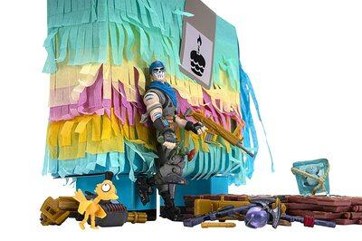 Лама Драма Пината - Боевая раскраска Фортнайт (Fortnite Llama Loot Pinata, War Paint) (фото, вид 2)