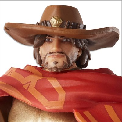 Маккри - фигурка Овервотч (Hasbro Overwatch Ultimates Series McCREE Collectible Action Figure) (фото, вид 2)