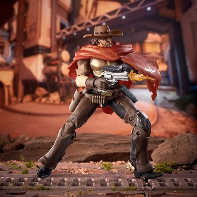 Маккри - фигурка Овервотч (Hasbro Overwatch Ultimates Series McCREE Collectible Action Figure) (фото, вид 3)