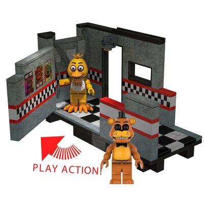 Восточный зал - конструктор пять ночей с Фредди 149 дет. (McFarlane Toys Five Nights at Freddy's East Hall Medium Construction Set) (фото, вид 1)