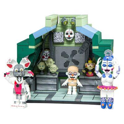 Модуль управления - конструктор пять ночей с Фредди 290 дет. (McFarlane Toys Five Nights at Freddy's Control Module Large Construction Set) (фото, вид 1)