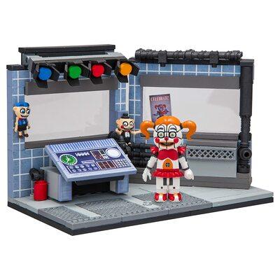 Цирковое управление - конструктор пять ночей с Фредди 160 дет. (McFarlane Toys Five Nights at Freddy's Circus Control Construction Building Kit) (фото, вид 1)