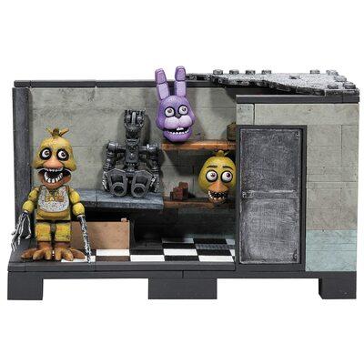 За кулисами - конструктор пять ночей с Фредди 153 дет. (McFarlane Toys Five Nights at Freddy's Backstage 'Classic Series' Medium Construction Set) (фото, вид 1)