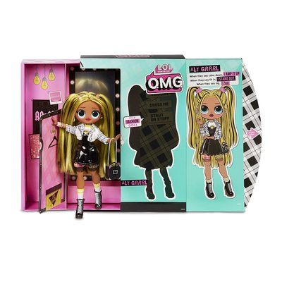 Кукла ЛОЛ O.M.G. Стильная Альт Гёл с 20 сюрпризами. (LOL O.M.G. Alt Girl Fashion Doll) (фото, вид 1)
