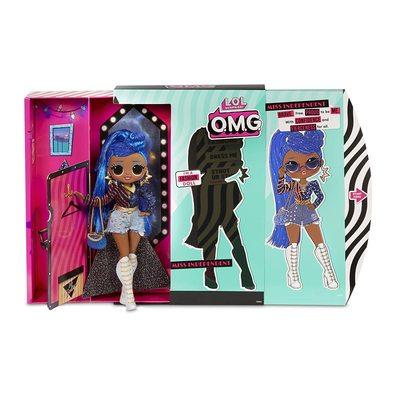 Кукла ЛОЛ Сюрприз! O.M.G. Стильная Мисс Независимая с 20 сюрпризами. (L.O.L. Surprise! O.M.G. Miss Independent Fashion Doll with 20 Surprises) (фото, вид 1)