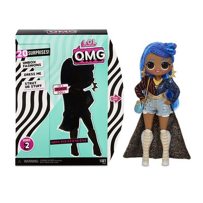 Кукла ЛОЛ O.M.G. Стильная Мисс Независимая с 20 сюрпризами. (LOL O.M.G. Miss Independent Fashion Doll) (фото, вид 2)