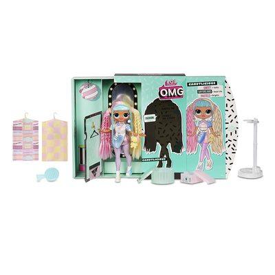 Кукла ЛОЛ Сюрприз! O.M.G. Стильная КэндиЛишэс с 20 сюрпризами. (L.O.L. Surprise! O.M.G. Candylicious Fashion Doll with 20 Surprises) (фото, вид 1)