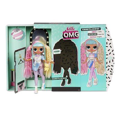 Кукла ЛОЛ O.M.G. Стильная КэндиЛишэс с 20 сюрпризами. (LOL O.M.G. Candylicious Fashion Doll) (фото, вид 3)