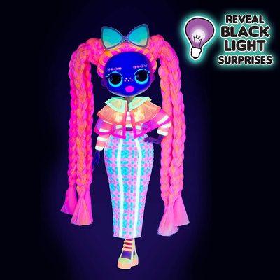 Кукла ЛОЛ O.M.G. Стильная Дазл, светящаяся в темноте, с 15 сюрпризами (LOL O.M.G. Lights Dazzle Fashion Doll) (фото, вид 3)