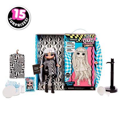Кукла ЛОЛ O.M.G. Стильная Груви Бэби, светящаяся в темноте, с 15 сюрпризами (LOL O.M.G. Lights Groovy Babe Fashion Doll) (фото, вид 2)