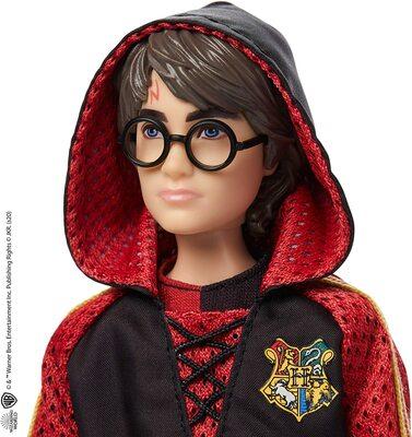 Кукла Гарри Поттер - Кубок огня с палочкой и золотым яйцом (Harry Potter Collectible Triwizard Tournament Doll, Wand and Golden Egg Accessory) (фото, вид 3)