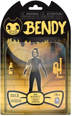 Фигурка Чернильная Одри - Бенди Темное Возрождение 3-серия (Bendy and The Dark Revival - Action Figures (Ink Audrey)) (фото, вид 1)