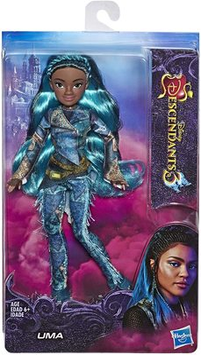 """Кукла Ума из серии """"Наследники Дисней 3"""" (Disney Descendants Uma Fashion Doll, Inspired by Descendants 3) (фото, вид 1)"""