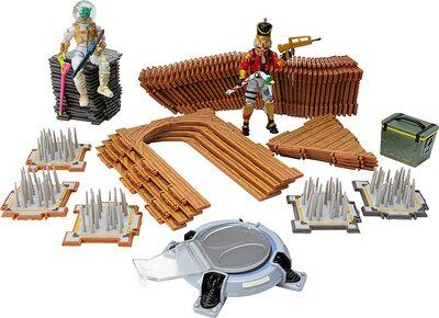 Конструктор Фортнайт - Turbo Builder - Левиафан и Щелкунчик (84 детали) (Fortnite Late Game Survival Kit - Crackshot, Leviathan.) (фото, вид 1)