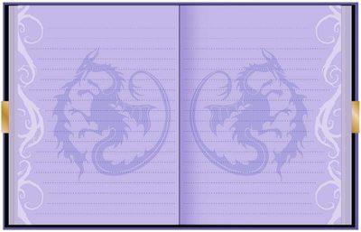 Дневник Мэл «Наследники Диснея» с замком и ключом, для фанатов Mal и Disney (Disney Descendants Mals Diary Journal Book for Girls) (фото, вид 1)