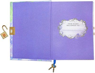Дневник Мэл «Наследники Диснея» с замком и ключом, для фанатов Mal и Disney (Disney Descendants Mals Diary Journal Book for Girls) (фото, вид 2)