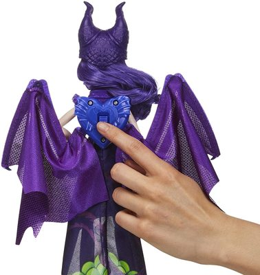Кукла-трансформер Королева Дракон Мэл, «Наследники Диснея-3» (Disney Descendants Dragon Queen Mal, Fashion Doll Transforms to Winged Dragon) (фото, вид 3)