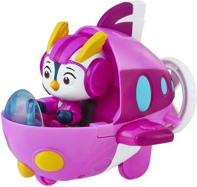 Фигурка кадета Пенни с транспортным средством из сериала «Отважные птенцы» (Top Wing Penny Figure & Vehicle) (фото, вид 2)
