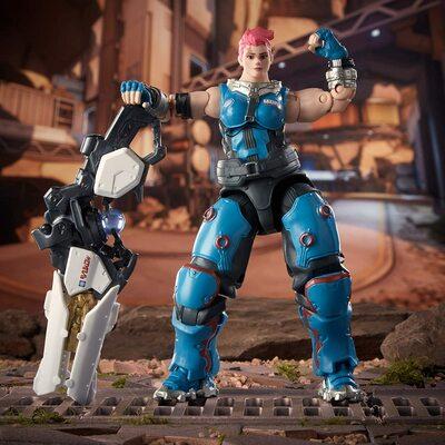 Заря - фигурка Овервотч (Hasbro Overwatch Ultimates Series ZARYA Collectible Action Figure) (фото, вид 2)