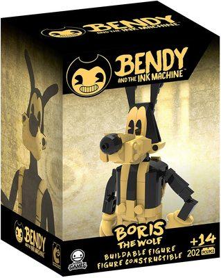Бенди и чернильная машина - сборная фигура Бориса (202 шт.) (Bendy and the Ink Machine - Boris Buildable Figure) (фото, вид 1)