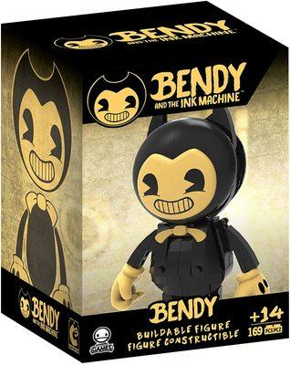 Бенди и чернильная машина - сборная фигура Бенди (169 шт.) (Bendy and the Ink Machine - Bendy Buildable Figure) (фото, вид 1)