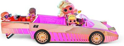 Набор кукла ЛОЛ Драг Рэйсер в кабриолете с бассейном и танцполом. (LOL Car-Pool Coupe with Exclusive Doll) (фото, вид 1)
