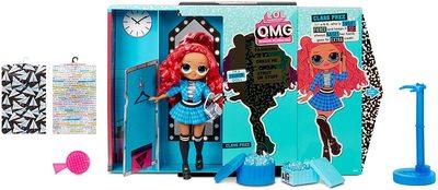 Кукла ЛОЛ Сюрприз O.М.G. 3 серия, Стильная Класс През, с 20 сюрпризами (L.O.L. Surprise! O.M.G. Series 3 Class Prez Fashion Doll with 20 Surprises) (фото, вид 1)