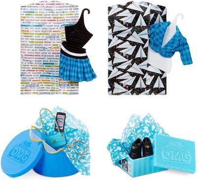 Кукла ЛОЛ Сюрприз O.М.G. 3 серия, Стильная Класс През, с 20 сюрпризами (L.O.L. Surprise! O.M.G. Series 3 Class Prez Fashion Doll with 20 Surprises) (фото, вид 3)