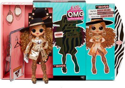 Кукла ЛОЛ Сюрприз O.М.G. 3 серия, Стильная Да Босс, с 20 сюрпризами (L.O.L. Surprise! O.M.G. Series 3 Da Boss Fashion Doll with 20 Surprises) (фото, вид 4)
