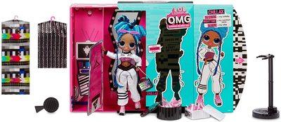 Кукла ЛОЛ O.М.G. 3 серия, Стильная Чиллакс, с 20 сюрпризами (LOL O.M.G. Series 3 Chillax Fashion Doll) (фото, вид 1)
