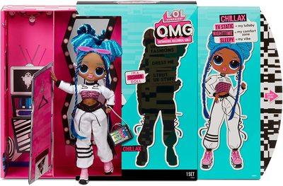 Кукла ЛОЛ O.М.G. 3 серия, Стильная Чиллакс, с 20 сюрпризами (LOL O.M.G. Series 3 Chillax Fashion Doll) (фото, вид 4)