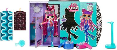 Кукла ЛОЛ Сюрприз O.М.G. 3 серия, Стильная Роллер Чик, с 20 сюрпризами (L.O.L. Surprise! O.M.G. Series 3 Roller Chick Fashion Doll with 20 Surprises) (фото, вид 1)