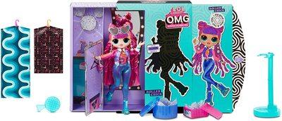 Кукла ЛОЛ O.М.G. 3 серия, Стильная Роллер Чик, с 20 сюрпризами (LOL O.M.G. Series 3 Roller Chick Fashion Doll) (фото, вид 1)