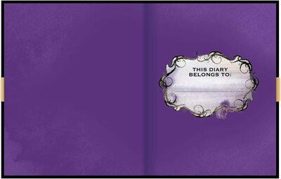 Дневник Мэл «Наследники Диснея 3» с замком и ключом, новый дизайн (Innovative Designs Disney Mal's Diary Descendants 3) (фото, вид 1)