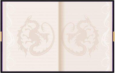 Дневник Мэл «Наследники Диснея 3» с замком и ключом, новый дизайн (Innovative Designs Disney Mal's Diary Descendants 3) (фото, вид 2)