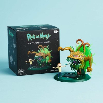 Фигурка Морти и монстр, погром (Rick and Morty - Morty Monster Mayhem Figure) (фото, вид 1)